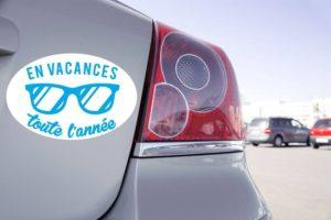 Sticker Voiture Humour Délire