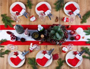 table de noël traditionnel